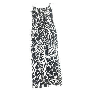 Just Love Black and White Dress 3X